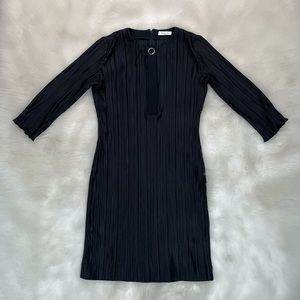 Mugler Paris Pleated Dress